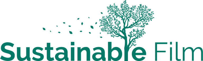 Sustainable Film Logo in green